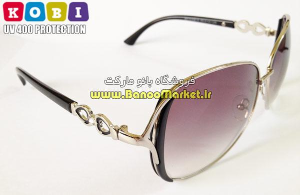 عینک آفتابی زنانه کوبی مشکی